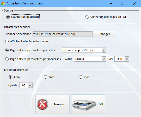 Scanner un document